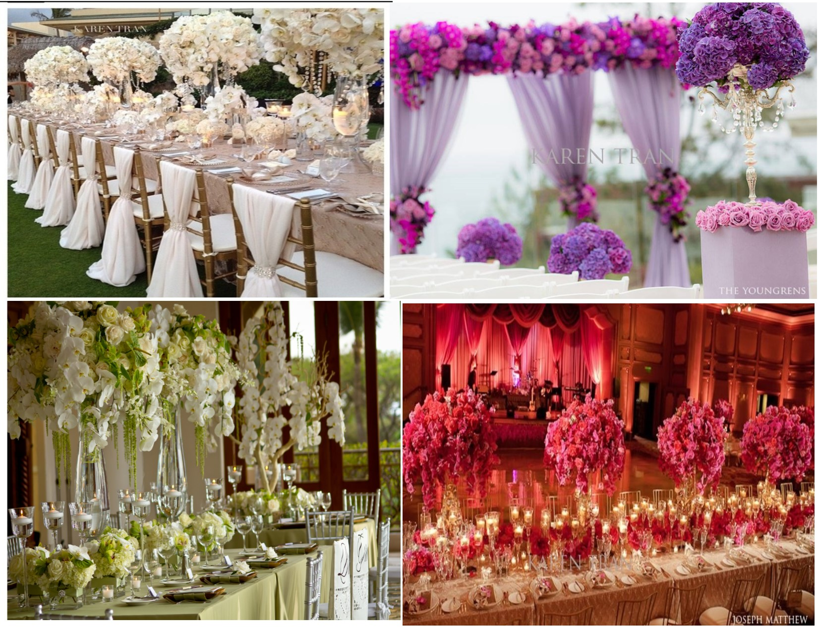 On cloud nine events top 14 wedding trends of 2014 6 for Trending decor