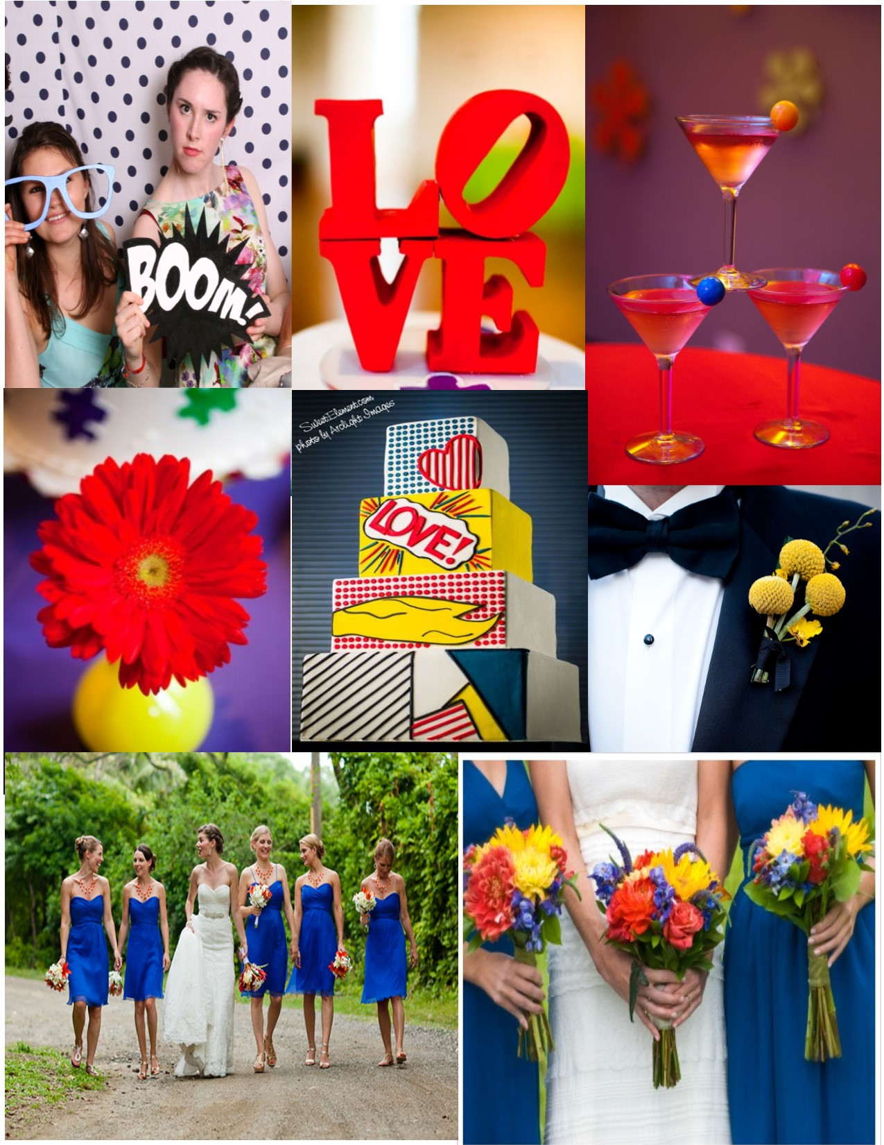 Pop Art Wedding Ideas